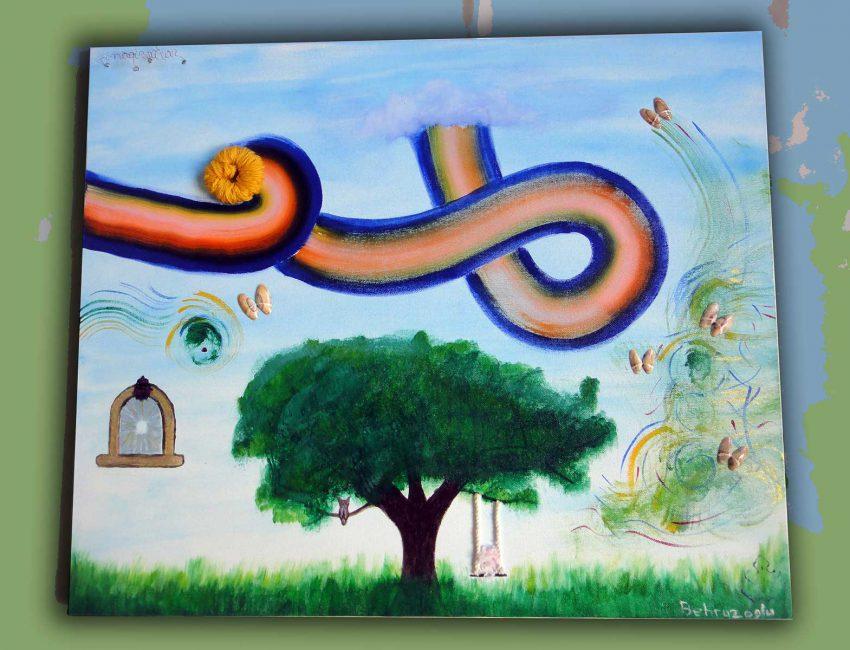 Imagination-50x60cm-canvas-acrylic-paint