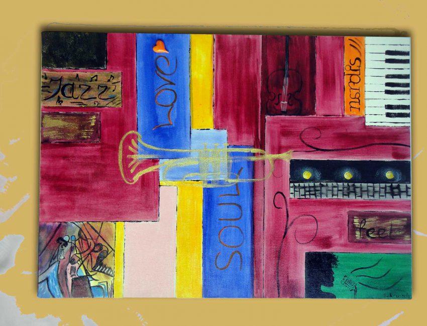 Jazz-50x70cm-canvas-acrylic-paint